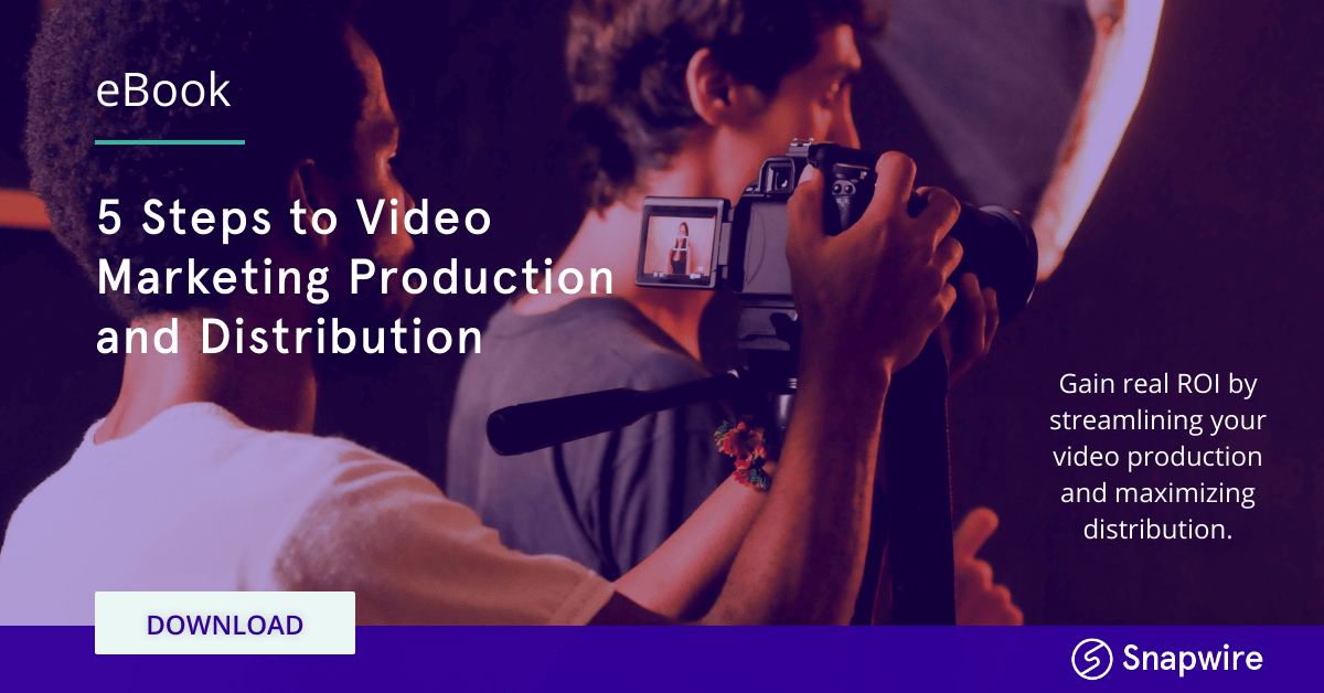 5 steps to Video Marketing Production and Distribution