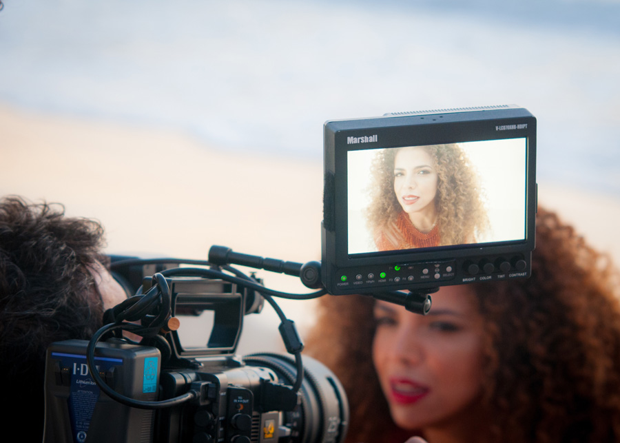 Video Behind the Scenes visual production