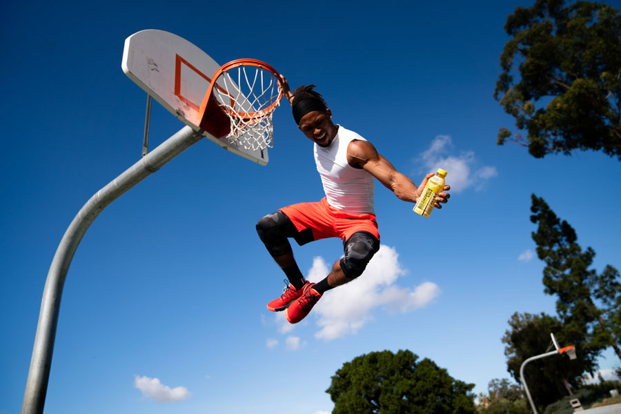 Basketball Jump Visual Content Product Photography