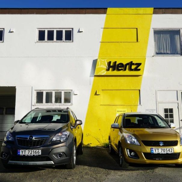 cars hertz logo
