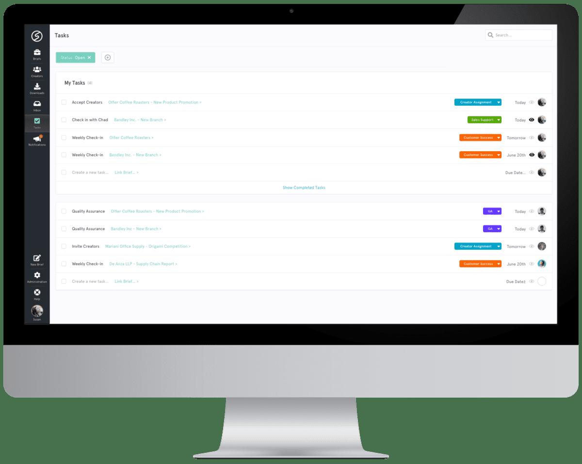 visual production platform