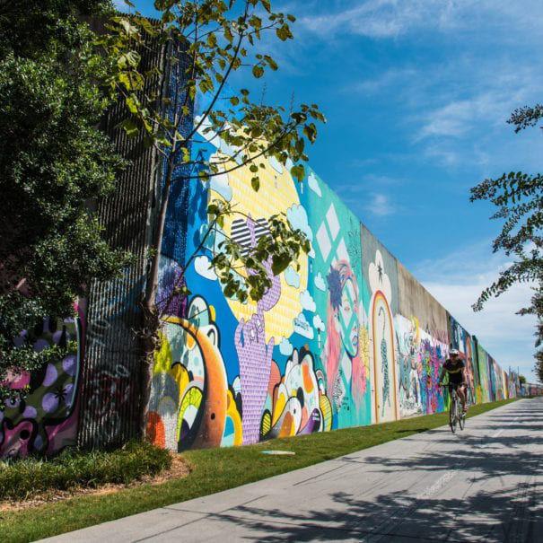 RentPath graffiti wall