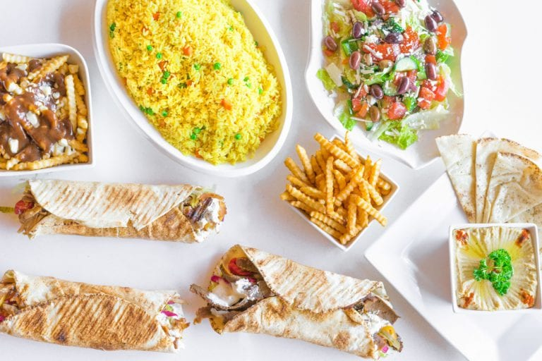 Skip the Dishes wraps fries and rice