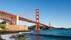 Golden Gate Bridge shot for UBER
