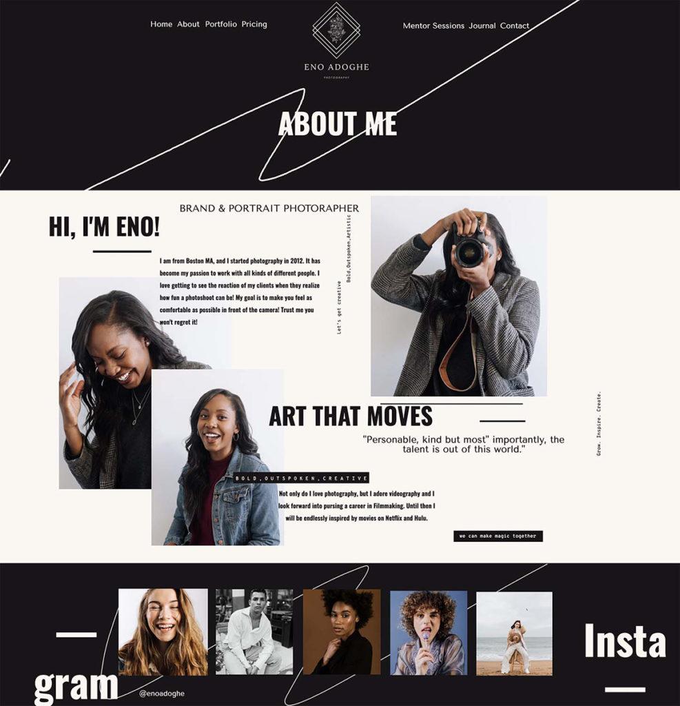 photography resume