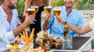 couples with Grimbergen beer and food