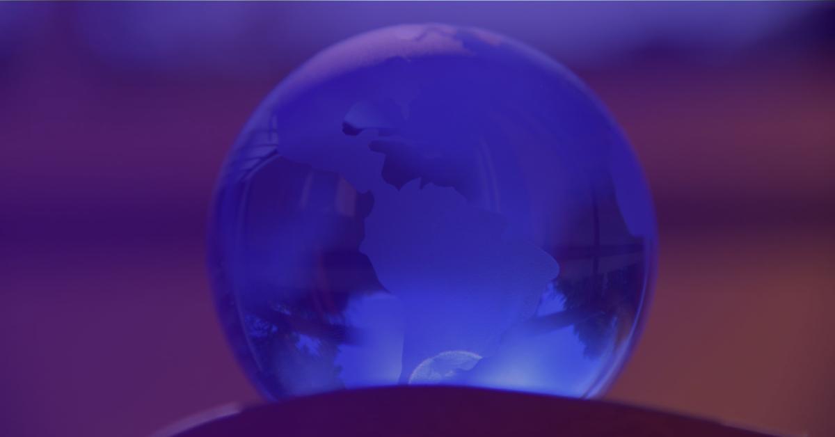 purple globe