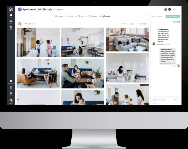 Snapwire Visual Content Production Platform