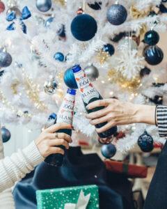 Kronenbourg festive decorations