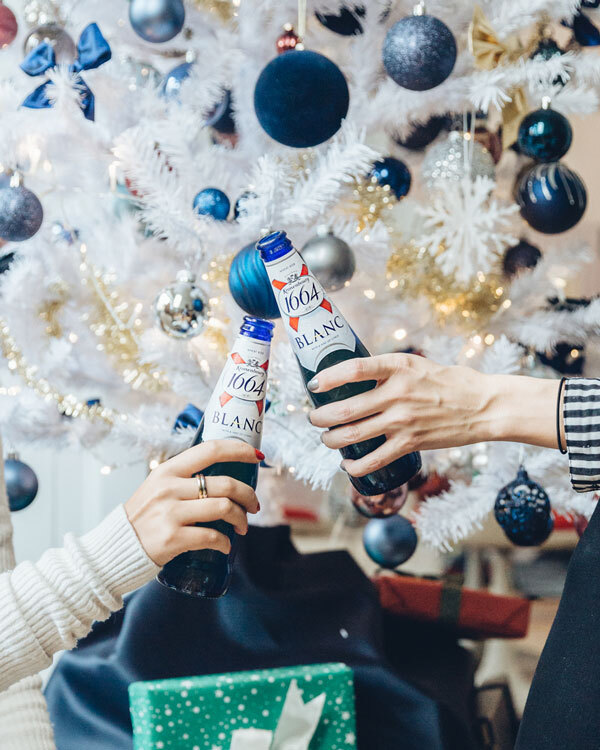Kronenbourg festive decorations