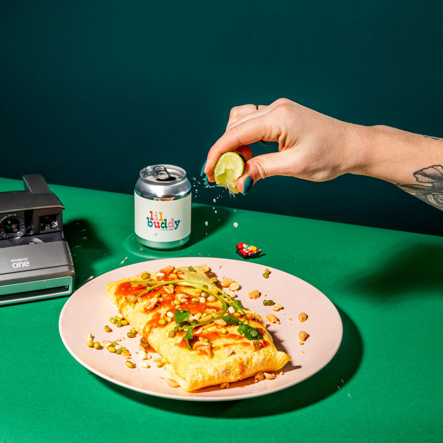 Omelette Product Photography