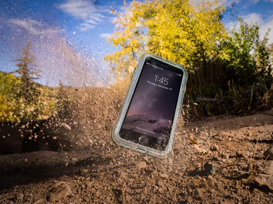 Lifeproof phone case Product Photography
