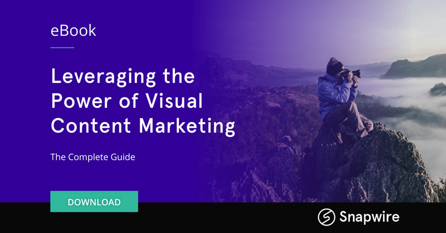 Link for the Leveraging the Power of Visual Content Marketing eBook