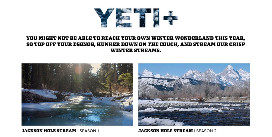 yeti marketing campaign